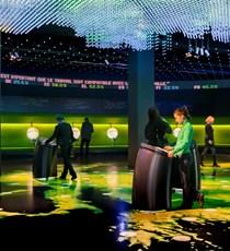Parlamentarium: le centre des visiteurs du Parlement européen