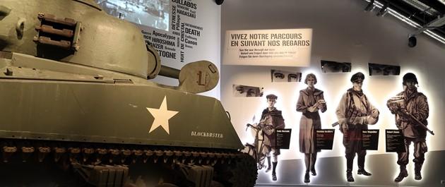 Weekend Nuts : commémorations au Bastogne War Museum