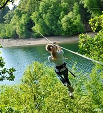 Die Seen des Eau d'Heure Natura Parc