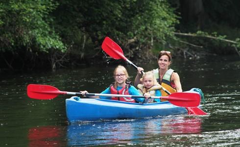 Brandsport - Kayaking on the River Ourthe
