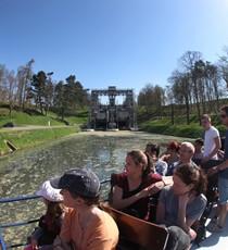 Het historisch Canal du Centre