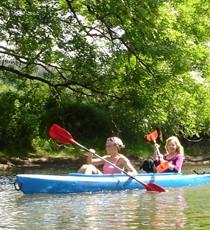 Domaine de Palogne Ourthe kayak descent