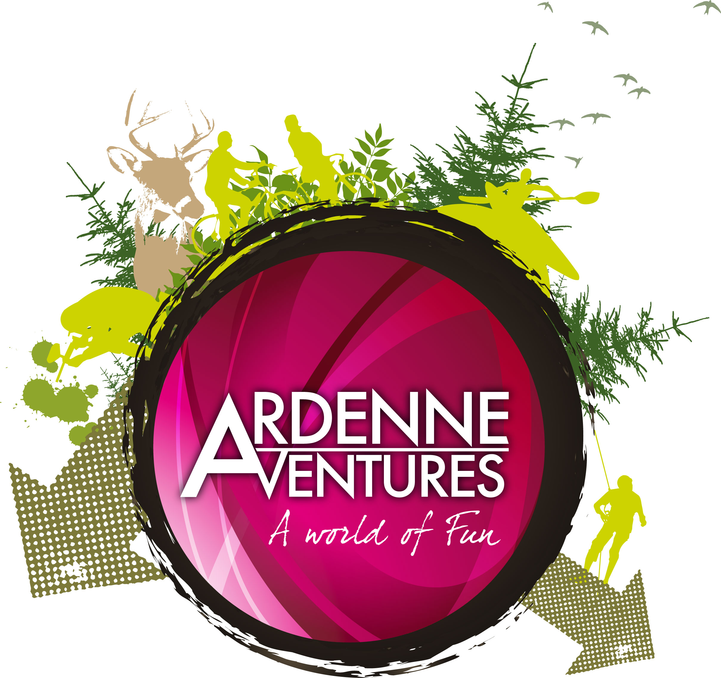 Ardenne Aventures - Fahrt auf der Ourthe